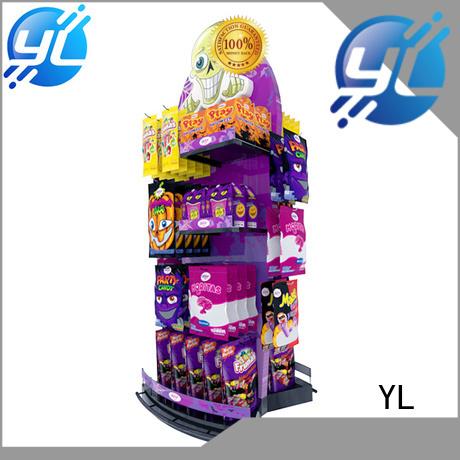 YL supermarket display rack widely applied for supermarket