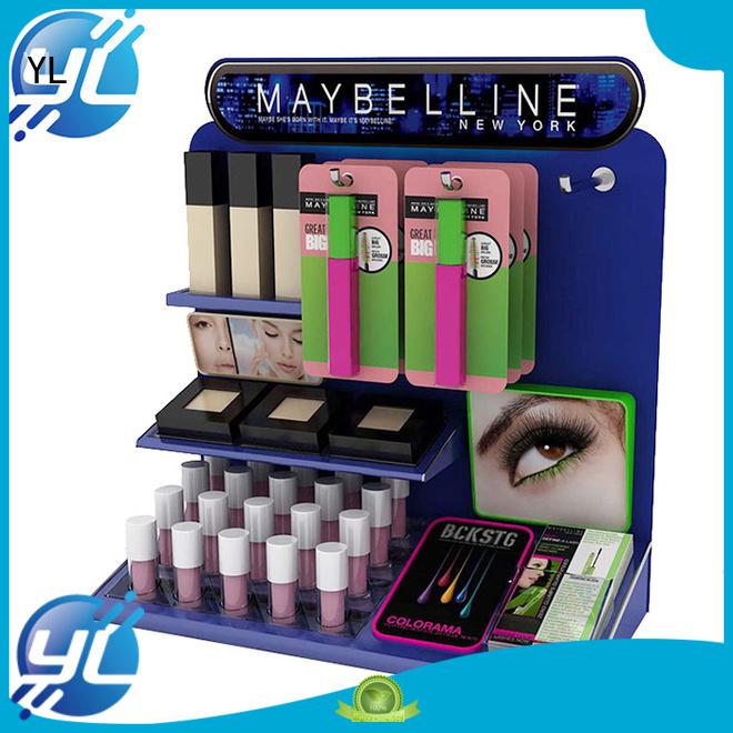 beautiful makeup display optimal for displaying cosmetics
