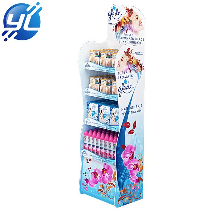 Grocery display rack for supermarket