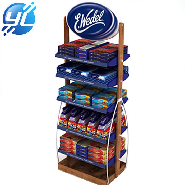 Grocery rack, Supermarket racks