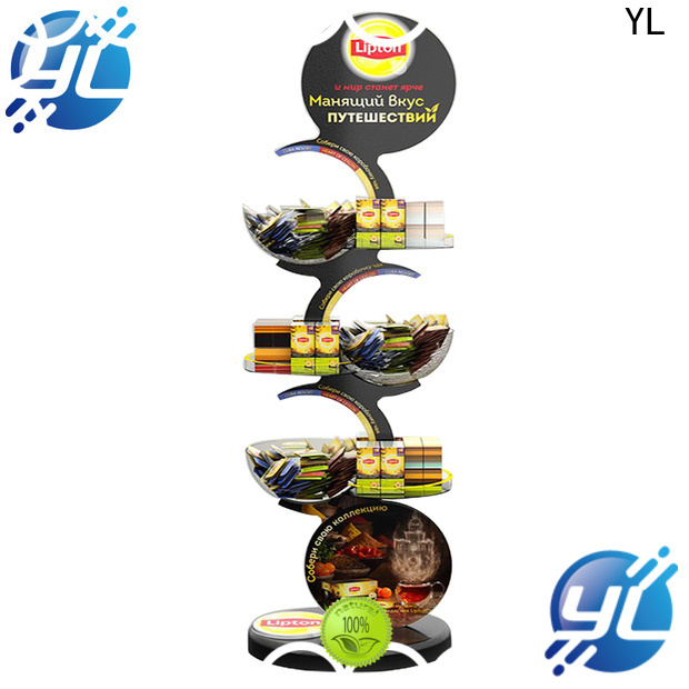 YL store rack company for displaying food