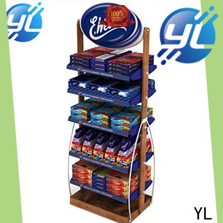 high grade supermarket display rack manufacturer for displaying food