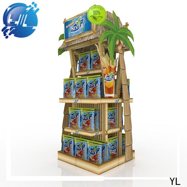 YL custom store rack distributor