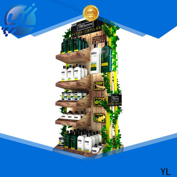 YL shelf display cabinet manufacturer
