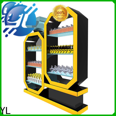 YL custom made makeup display supplier for retail shop