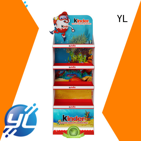 YL display shelves indispensable for retail stores