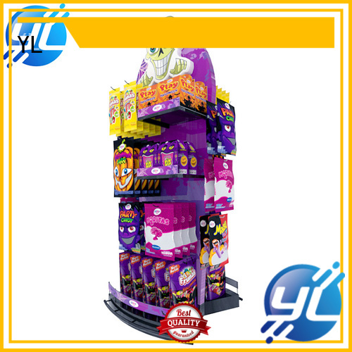 YL supermarket display rack widely applied for displaying food