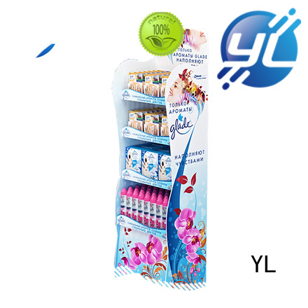 YL supermarket display shelves widely used for