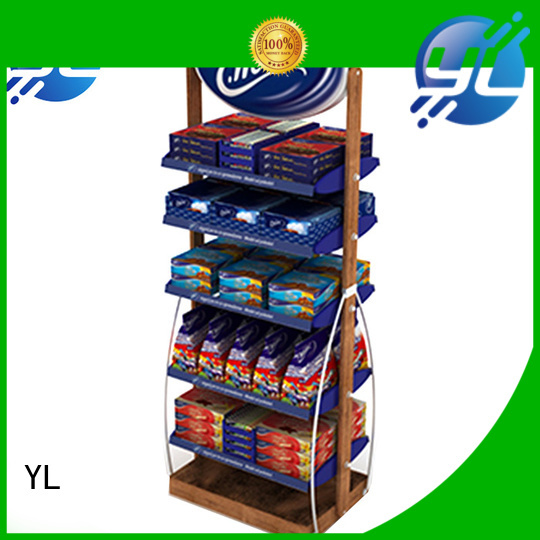 customized store rack needed for supermarket