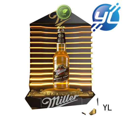 YL customized wine display stand optimal for wine stores