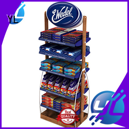 YL supermarket display rack widely applied for variety store