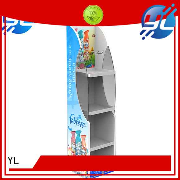 YL retail racks widely applied for displaying food