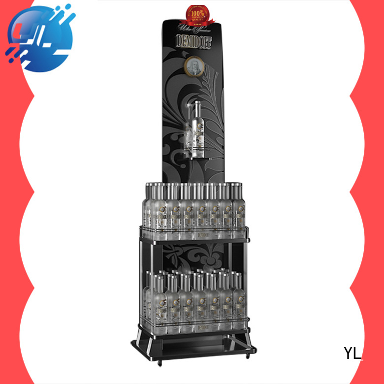 YL wine display rack wine stores