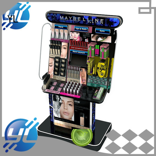 YL customized cosmetic display cosmetics stores