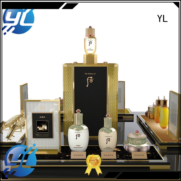 YL cosmetic retail display optimal for cosmetics stores