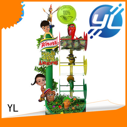 YL retail display indispensable for displaying food