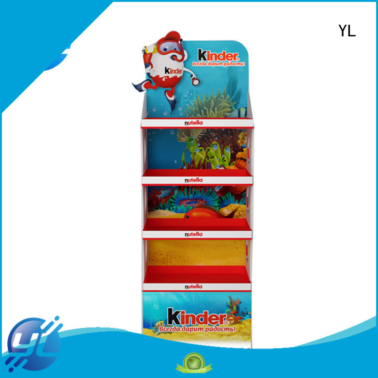 YL economical supermarket display stands needed for displaying food