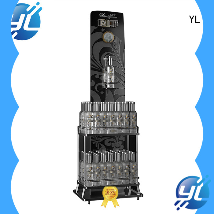 YL durable standing wine rack widely employed for