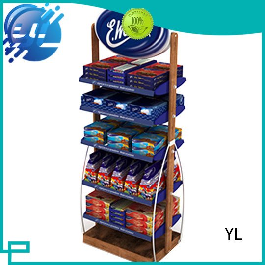 customized shelf display cabinet needed for supermarket