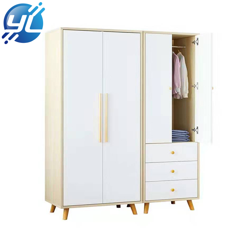 Retail Store Luxury Wooden Clothes Display Cabinet