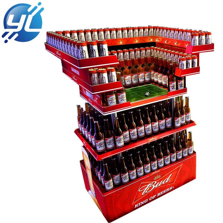 Beer booth exhibition display/metal world cup beer stands