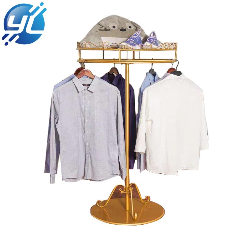 Heavy Duty Single Bar Clothing Throw pillow Display Rack