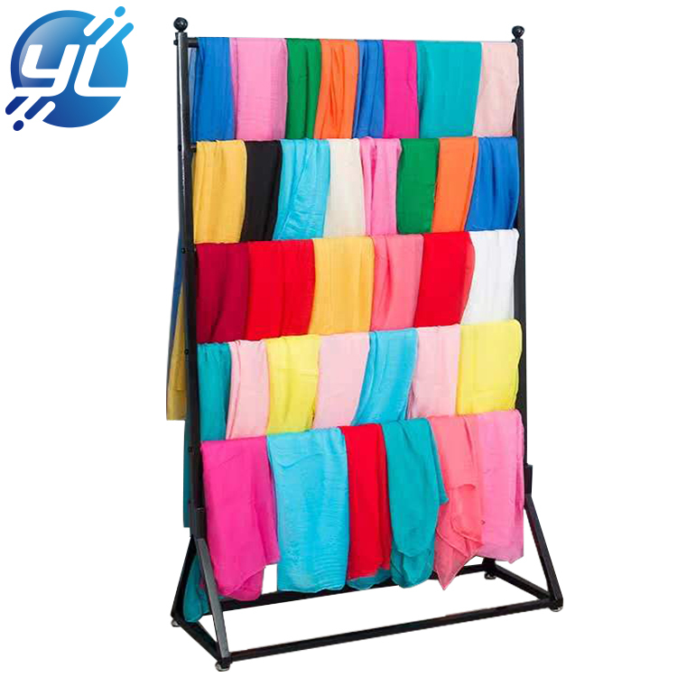 Customized Metal Boutique Store Scarf Display Rack