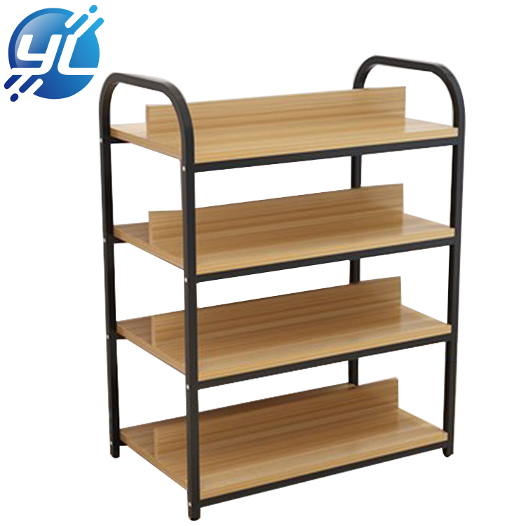 Wood Cosmetics Free Display Unit Beauty Salon Display Rack