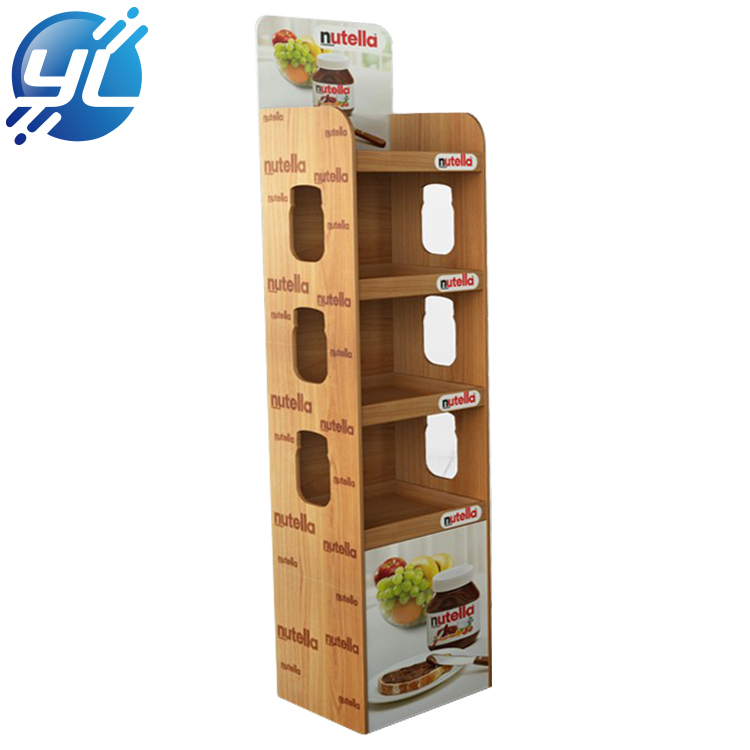 Manufacturer Directory Condiment Jam Tier Bamboo  Display Stand