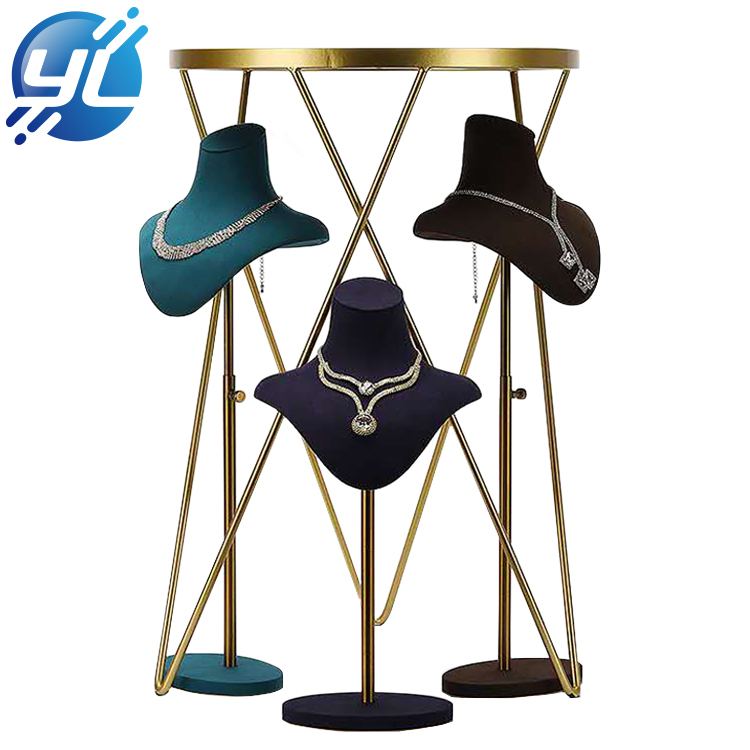 Factory Wholesale Custom Jewelry Mannequin Jewelry Display Stand