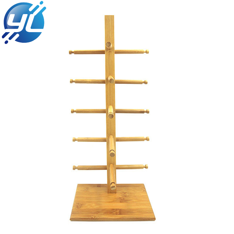 Retail Bamboo Display Stand For Glasses Popular Display Design