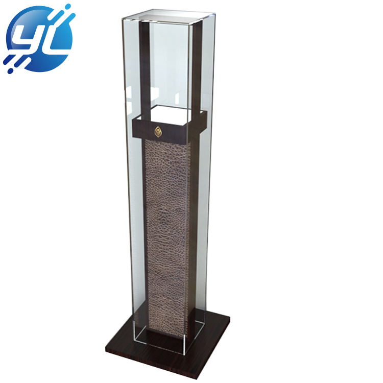 Customize hot selling wooden jewelry display rack or watch display stand