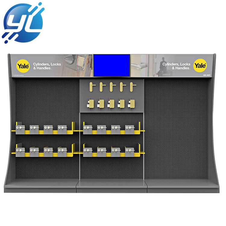 hot sale cheap good quality large capacity supermarket display shelves used to market