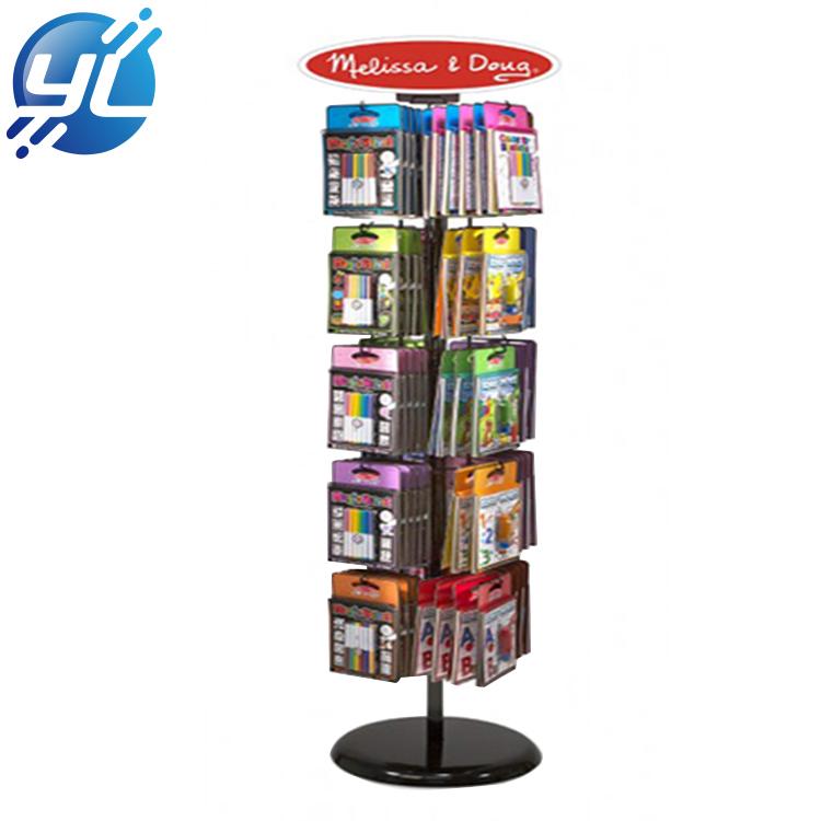 Rotating Literature Rotating Literature Display Stand Magazine Brochure Display Rack