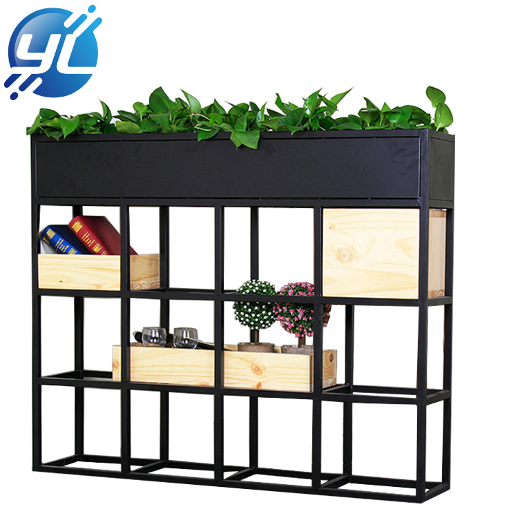 Wholesale Multi Functional Metal Stand Flower Plants Display Pot Rack