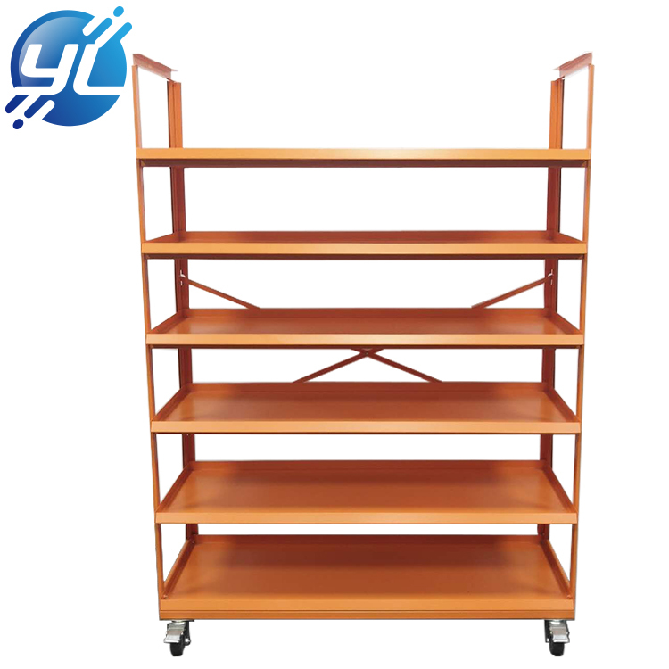 Metal grocery store gondola supermarket shelf customized