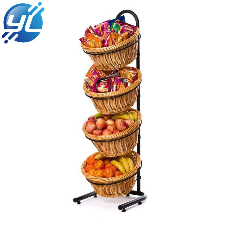 Customized Adjustable Supermarket Shelves With Pulleys