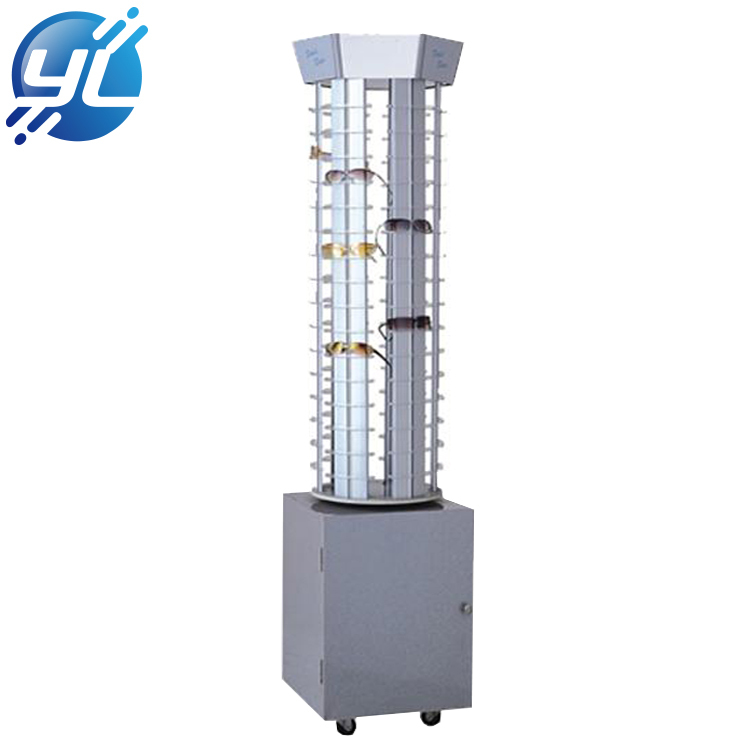 Wholesale optical shop floor standing sunglasses optical display racks