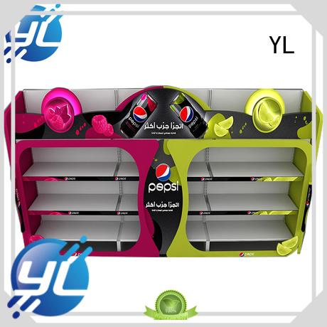 YL drinks rack supermarket
