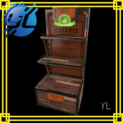 YL exquisite standing wine rack very useful for supermarket