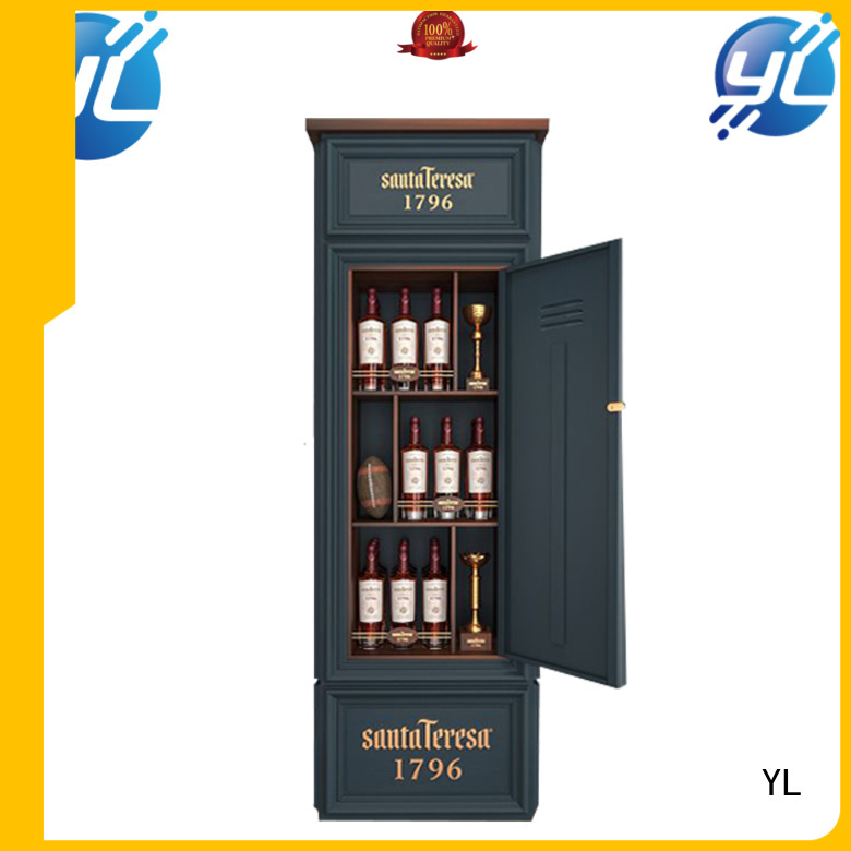 YL reliable standing wine rack optimal for wine stores