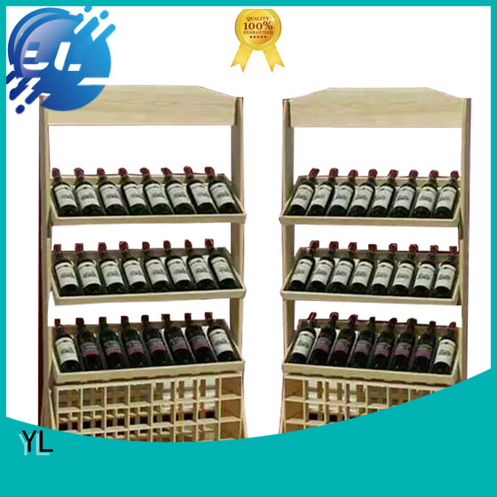 YL wine cabinet optimal for supermarket