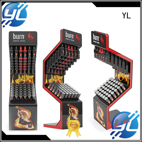 YL beverage racks ideal for retail stores
