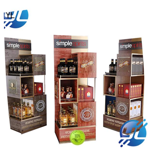 YL custom wine racks optimal for wine stores